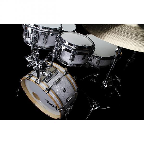 Custom New Taye Drums GoKit GK518F-SPK-WP Shell Pack In White Pearl Finish