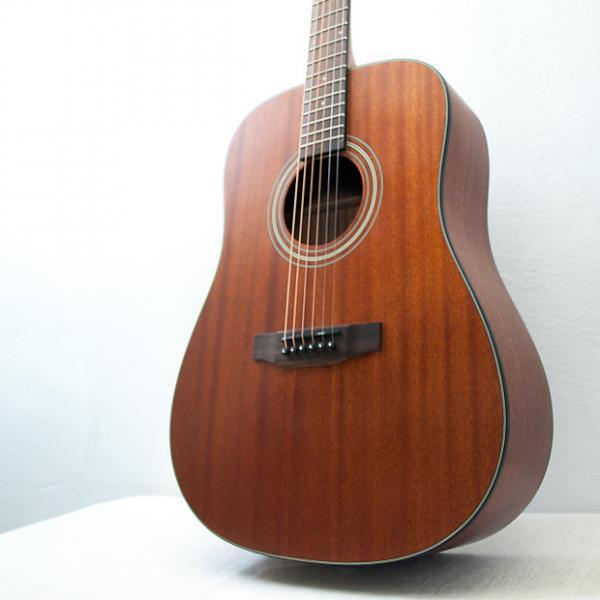 Custom Bristol BD-15 Dreadnaught Acoustic Guitar Mahogany