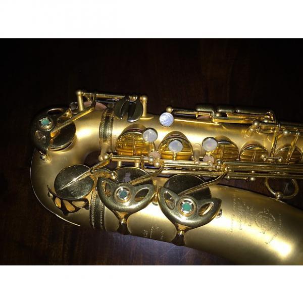 Custom Selmer Alto Saxophone Balanced Action 1935 24k Gold Playe