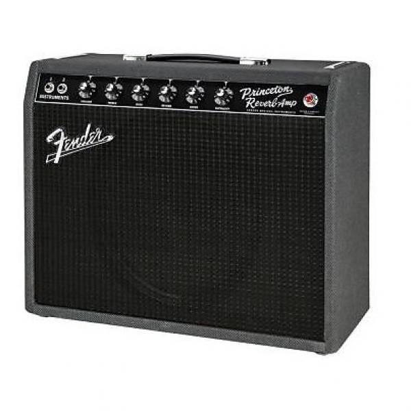 Custom Fender '68 Custom Princeton Reverb Black & Blue LIMITED EDITION