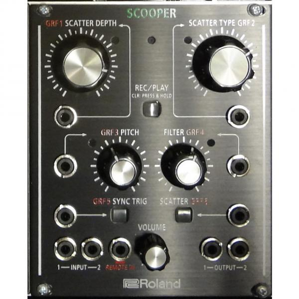 Custom Roland AIRA Scooper Modular Scatter Effect 2016 Black
