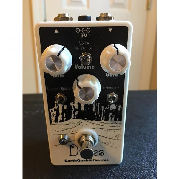 Custom Earthquaker Devices Dunes 2010s White Sparkle