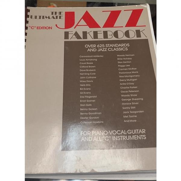 "Custom The Ultimate Jazz Fakebook ""C"" Edition Songbook"
