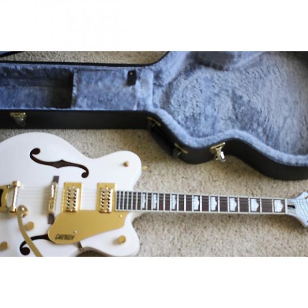 Custom Gretsch G5422TDC Electromatic Double-cutaway hollowbody RARE Cherry Blossom Color w/ Hardshell Case Cherry Blossom