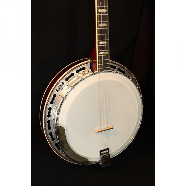 Custom Vega 4-String Tenor Banjo W/ Black Hard Case