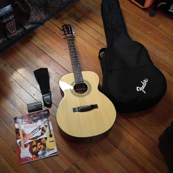 Custom Fender FA-125 OS w/Fender Gig Bag, Strap, Tuner, and Beginner Book