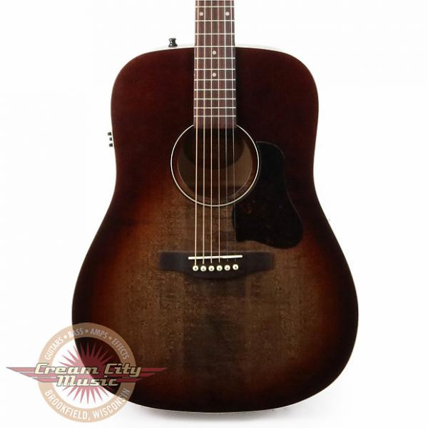 Custom Brand New Art & Lutherie Americana Dreadnought Acoustic Electric in Bourbon Burst