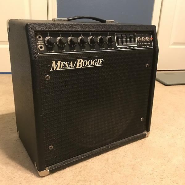Custom Mesa Boogie Caliber Series Class-A Vintage Tube Amp w/ EQ and footswitch