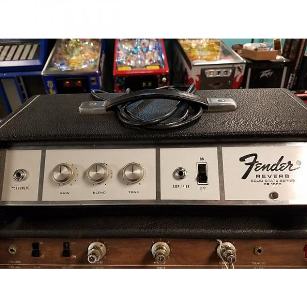 Custom Fender FR 1000 Solid State Reverb 1960's Black/White