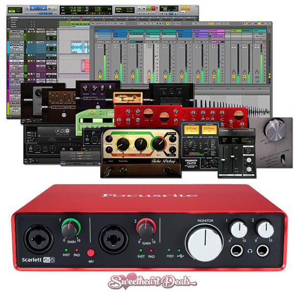 Custom Focusrite Scarlett 6i6 (2nd Gen) USB Audio Interface with Pro Tools First
