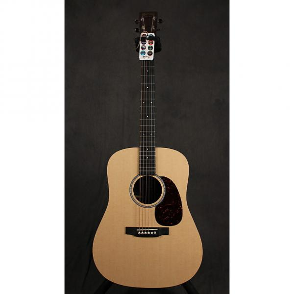 Custom Martin DXMAE Dreadnought Acoustic Electric Natural Finish