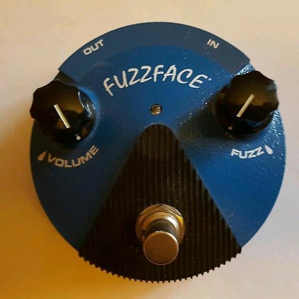 Custom Dunlop FuzzFace  Blue