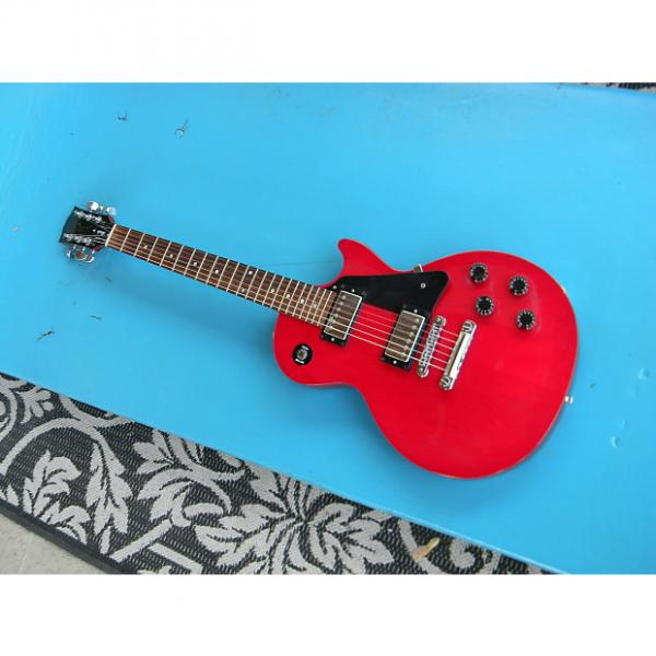 Custom 1998 Gibson Les Paul Studio Transluscent Red Rosewood Fingerboard w/Dots Cool Inexpensive Les Paul