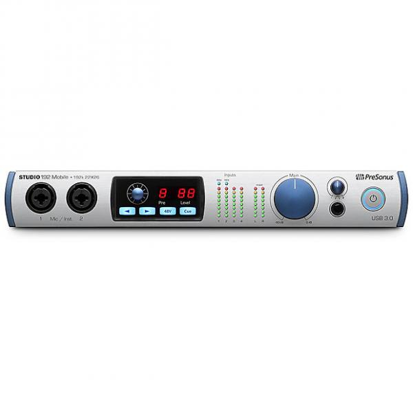 Custom Presonus - Studio 192 Mobile 22x26 USB 3.0 Audio Interface and Studio Command Center