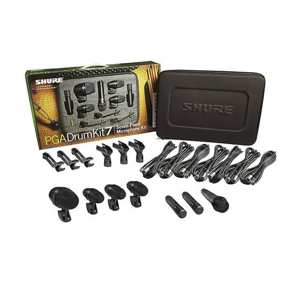 Custom Shure - PGADRUMKIT7 7-Piece Drum Microphone Kit