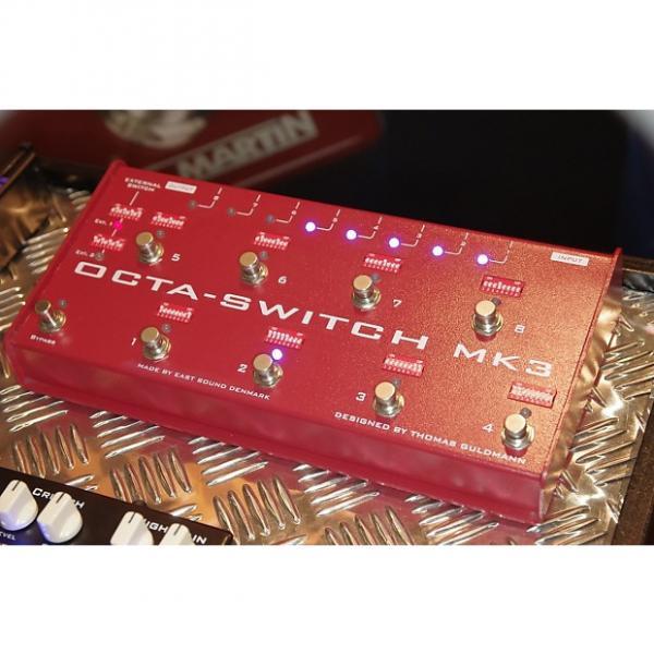 Custom Carl Martin Octa-Switch MK3 Multi-Effects Looper Guitar Pedal