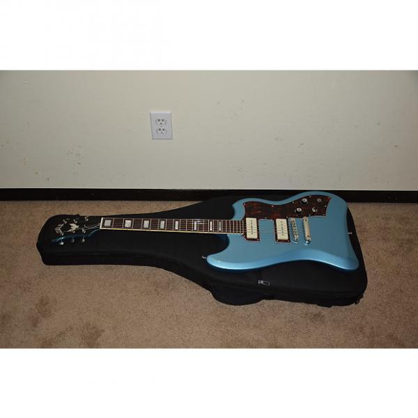 Custom Guild-T-Bird-ST-P90-Guitar-Pelham-Blue  Pro Set-Up Fast, Safe Worldwide Shipping Fully Insured