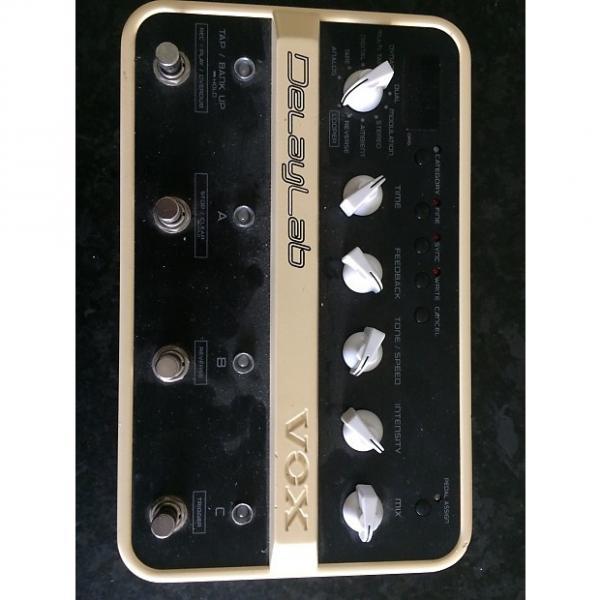 Custom Vox DelayLab Delay Modeler Dl4 Guitar Analog Digital Tape Cream