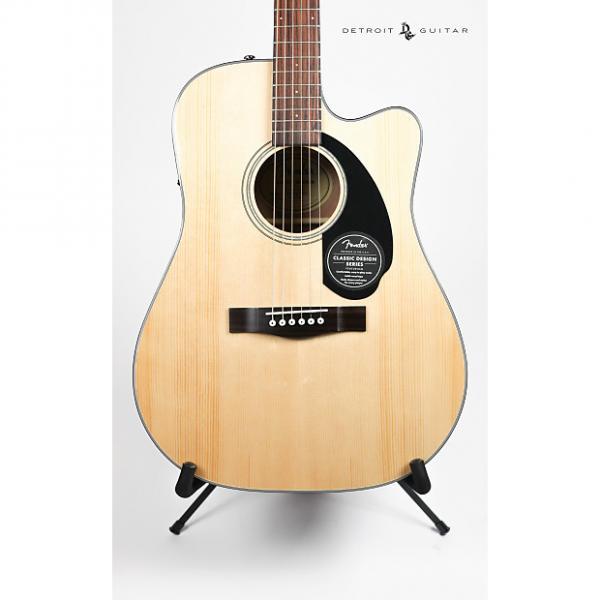 Custom Fender CD-60SCE Natural