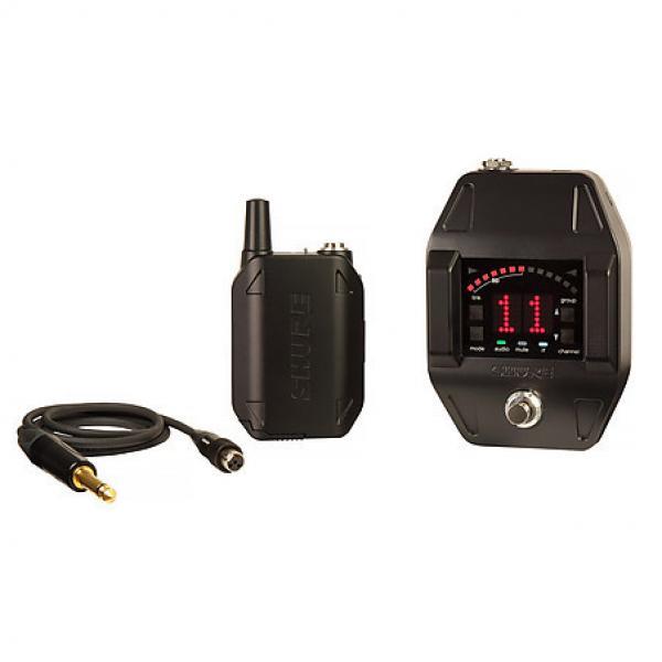 Custom Shure GLXD16 Guitar Wireless System w/ FREE SAME DAY SHIPPING