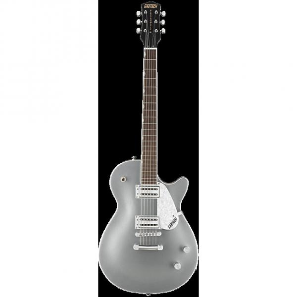Custom Gretsch G5426 Jet Club Electric Guitar | Silver Finish - Black