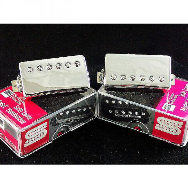 Custom Seymour Duncan SH-55 Seth Lover Neck + Bridge Set Nickel 11101-20-Nc 11101-21-Nc
