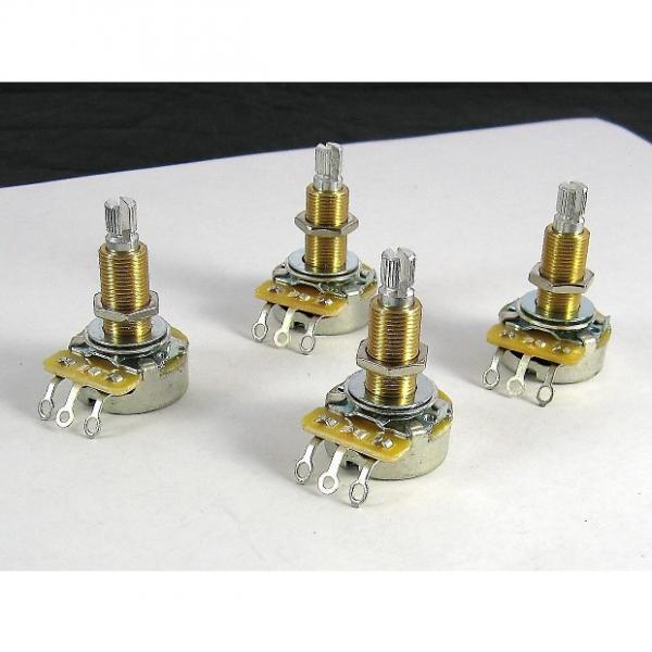 Custom CTS 500K Long Shaft Pots Audio Taper Set of 4 EP 0686-000