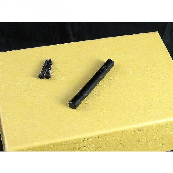 Custom String Retainer Bar for Floyd Rose Locking Nut Black w Screws AP 0724-003