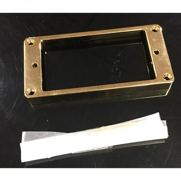 Custom Unbranded Metal Bridge Pickup Ring in Gold