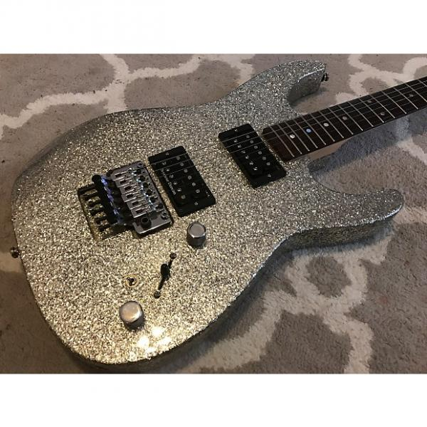 Custom G&L Custom Shop Invader Silver Metal Flake - 2005