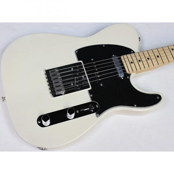 Custom Fender Deluxe Nashville Tele w/ Gig Bag, White Blonde, NEW! Telecaster #34788