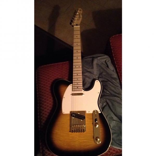 Custom Fender Richie Kotzen signature model telecaster 2015 Tobacco Sunburst