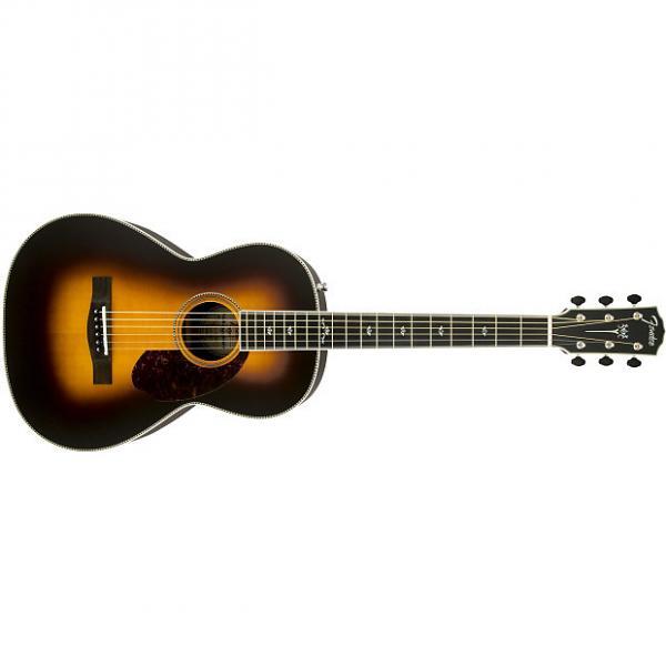 Custom Fender PM-2 Deluxe Parlor Ebony Fingerboard Vintage Sunburst