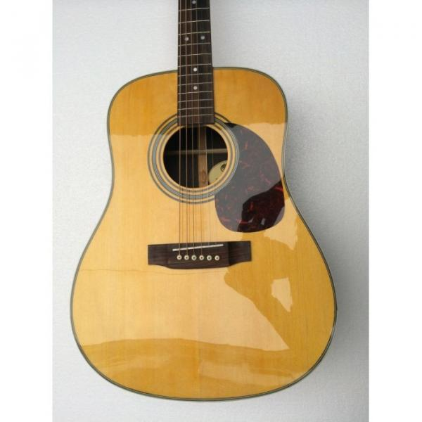 Custom Shop Martin 41 Inches D28 Natural Acoustic Guitar Sitka Solid Spruce Top With Ox Bone Nut & Saddler