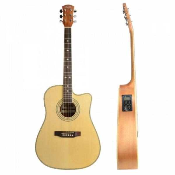 "Shuffle martin d45 41"" martin guitar Cutaway acoustic guitar strings martin Electric martin acoustic strings Acoustic guitar martin Guitar Wood Color with Pick Strings"