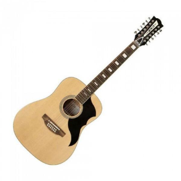 Superb New Eko Ranger 12 Vintage Re-issue Acoustic 12 String Guitar Zero Fret