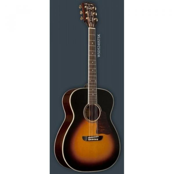 New martin Washburn martin strings acoustic WSD5240STSK martin guitar strings acoustic Solo martin d45 Deluxe martin guitars Acoustic Guitar With Hardshell Case