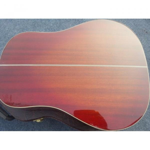 Custom martin guitar strings acoustic Red martin guitars acoustic Cherry guitar martin Sunburst martin guitar strings acoustic medium J160E martin acoustic guitars Acoustic Guitar