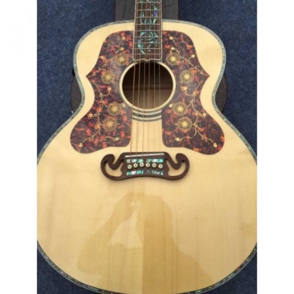 Custom acoustic guitar strings martin Shop martin acoustic guitars 6 guitar martin String martin guitar accessories J200 acoustic guitar martin Abalone Tree of Life Inlay Solid Spruce Acoustic Guitar