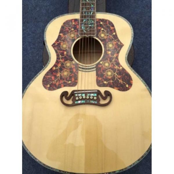 Custom martin acoustic guitar J200 martin guitar case 6 martin guitars acoustic Strings martin acoustic strings Natural martin d45 Acoustic Guitar Real Abalone