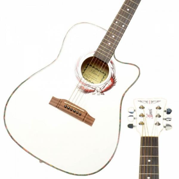 "Beginner martin guitar strings 41"" martin guitar strings acoustic medium Cutaway martin acoustic guitars Folk martin guitar case Acoustic martin acoustic guitar strings Wooden Guitar White"