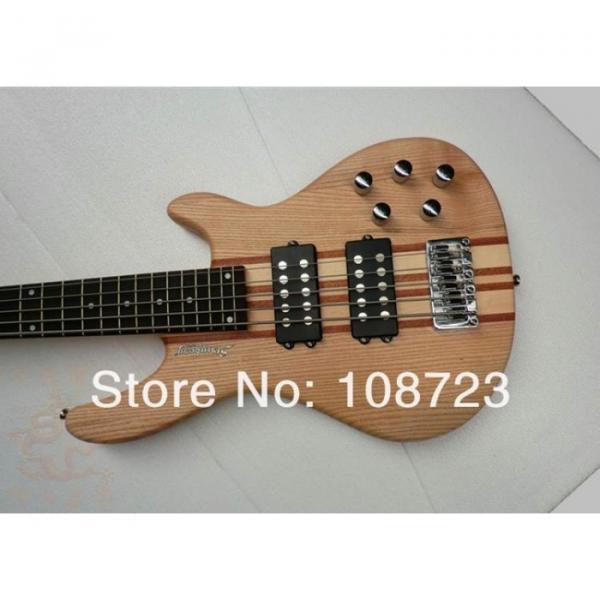 PRO Qulaity 5-String Electric Bass Guitar Ash Wood Thru Neck
