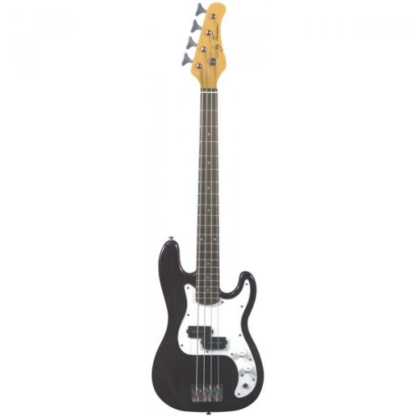 Jay Turser JTB-40 Series 3/4 Electric Bass Guitar Trans Black