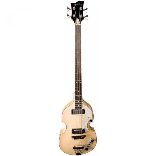 Jay Turser JTB-2B Series Electric Bass Guitar Natural