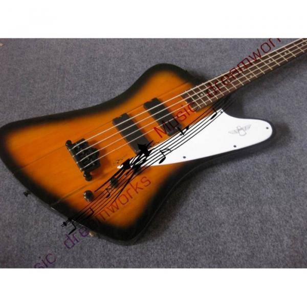 Custom Shop Thunderbird Sunsetburst Burst Electric Bass