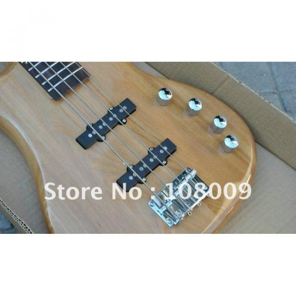 Custom Shop Natural Warwick Electric Bass