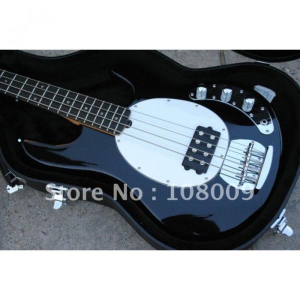 Custom Shop Music Man Jet Black Electric Bass