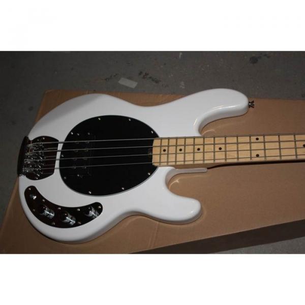 Custom Shop Music Man Sabre White Bass