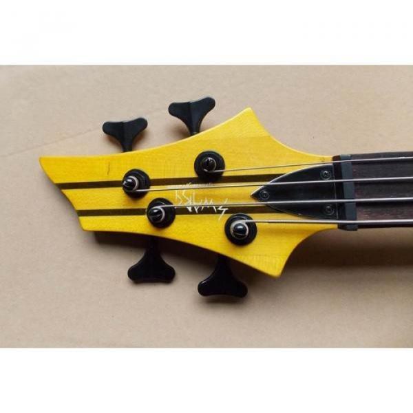 Custom Shop Electric Bass Neck Through Rosewood Finish
