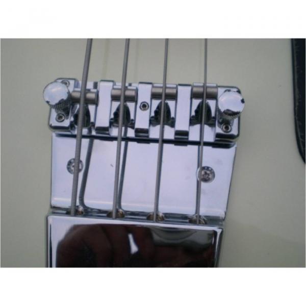 Custom Shop Cream White Checkerboard Binding 4003 Bass